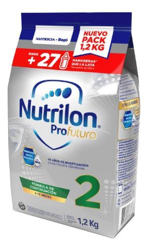 Imagen 1 de 6 de Leche Nutrilon Profutura 2 En Polvo 2 Pouch De 1.2 Kg C/u