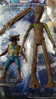 Groot + Rocket + Arma! Avengers Infinity War End Game Artic