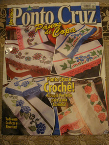 Revista Ponto De Cruz Pano De Prato Copa N. 135