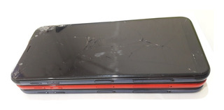 Lote Com 03 Celular Samsung J6 Plus J610 Com Tela Quebrada