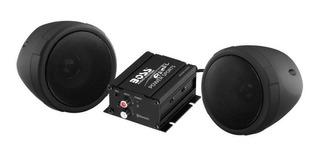 Parlante Moto 3 Boss Mcbk420b 600w Black