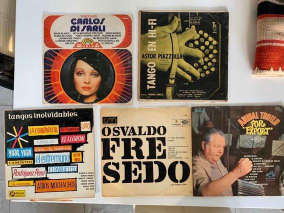 Set De 5 Discos De Tango Infaltables En Tu Colección !!