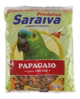Racao Completa P/ Papagaio - 500 G- Promocao