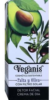 Veganis Crema Facial Dia Detox Palta Oliva 60g Nutritiva