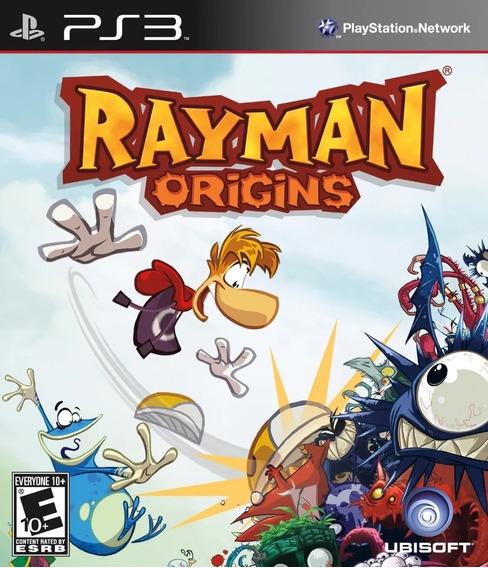 Rayman Origins Ps3 Psn Jogo Promoção Play 3