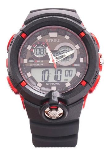 Reloj Strike Watch Análogo Digital Ad1188-0aga-bkrd Hombre
