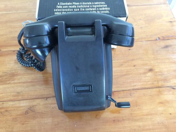 Antigo Telefone Ericson De Parede E Manivela