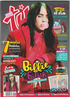 Billie Eilish - Revista Tu Mexico (mayo 2020)