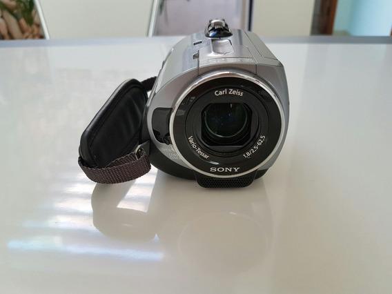 Filmadora Sony Handycam / Dcr-sr82 / Usada / Defeito Na Tela