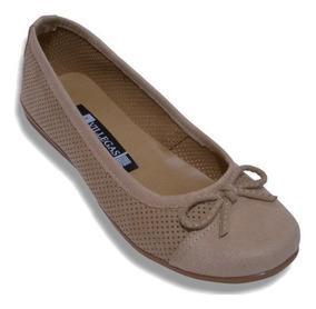 Flat Zapatos Suave Para Descanso Muy Comodo Antiderrapante