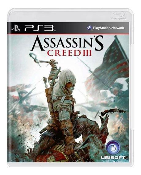 Assassins Creed Iii Ps3 Mídia Física Pronta Entrega