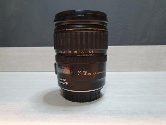 Lente Canon Ef 28 135 Mm F/3.5-5.6 Is Usm Estabilizada