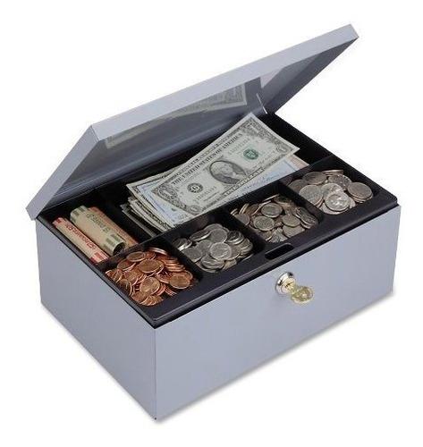 Imagen 1 de 1 de Steelmaster Cash Box Con Cerradura De Seguridad, Incluye Tec