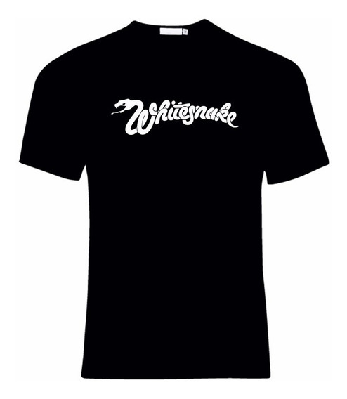 Remera Unisex Whitesnake Rock 100% Algodon Vinilo Textil