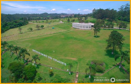 Imagem 1 de 3 de Jazigo No Cemitério Parque Dos Girassóis