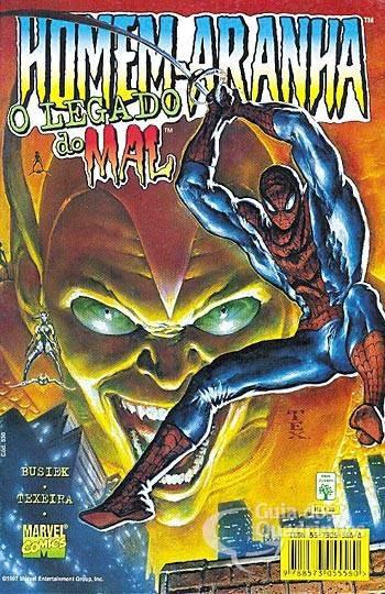 Homem Aranha - O Legado Do Mal - Marvel