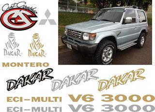 Calcomanias Para Mitsubishi Montero Dakar Como La Original