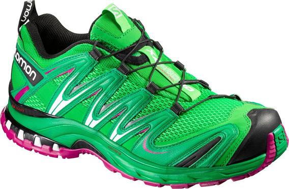 Zapatillas Mujer Salomon Trail Running - Xa Pro 3d - Trail