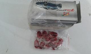 Bombillo Muelita Xenon Rojo Paquete De 50 Unidades