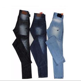 Kit 4 Calça Jeans Masculina De Marca Slim Skinny Imperdivel!