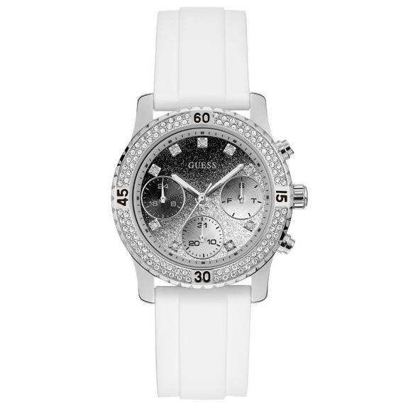 Relógio Feminino Guess Branco 92595l0gsnu8 Garantia C/ Nfe