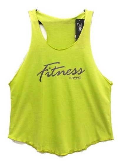 Camiseta Regata Trinys Fitness Linda, Confortável, Promoção