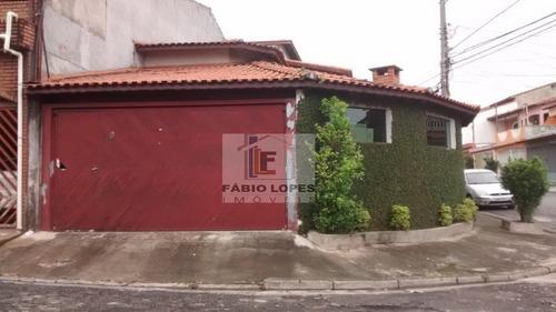 Casa A Venda No Bairro Parque Gerassi Em Santo André - Sp.  - 704-1
