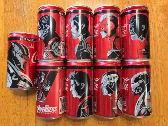 9 Coca Cola Avengers Endgame Ronin Hulk Thor Cap Thanos 235m