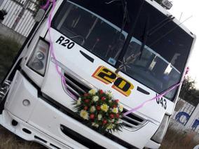 Autobús Urbano Con Concesión De Transporte Publico Puebla