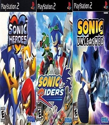 Sonic Collection (3 Jogos) Ps2 Desbloqueado Patch
