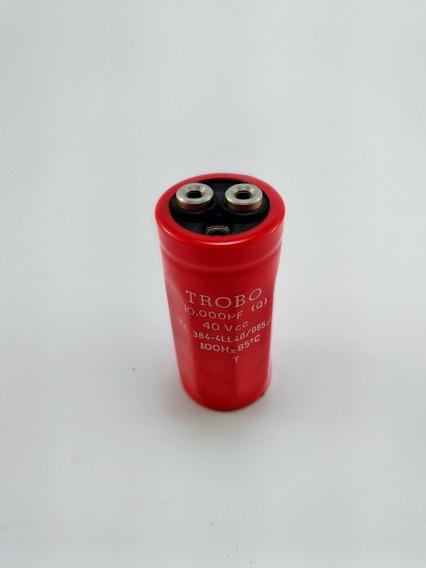 Capacitor Eletrolítico 10000uf 40v Torbo