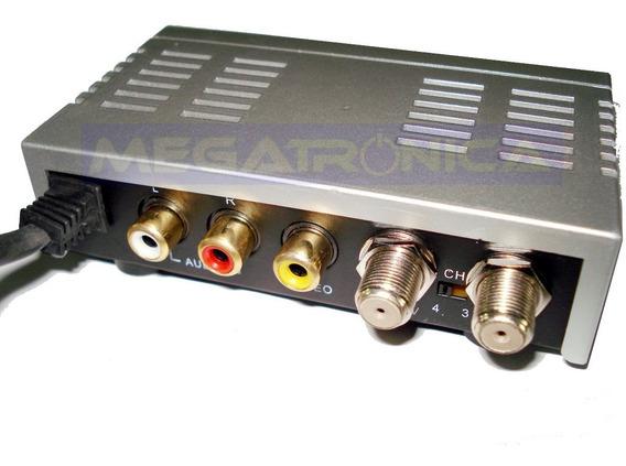 Modulador Rf De Video Ideal Para Dvd A Tv De Rca A F Tv