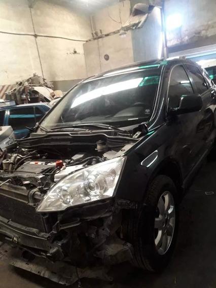 Honda Crv 4x4 Chocada Poco En Marcha Andando