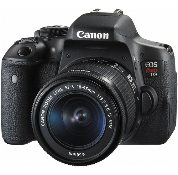 Canon T6i Kit 18-55 Stm