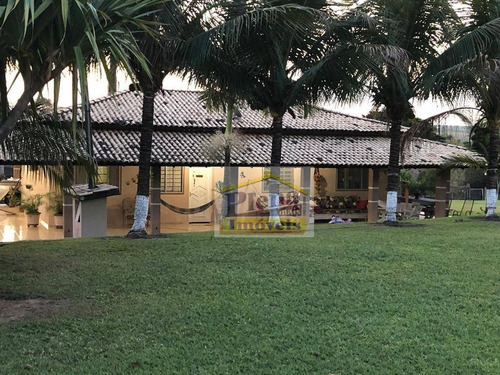 Chácara Com 3 Dormitórios À Venda, 38000 M² - Monjolinho - Monte Mor/sp - Ch0141