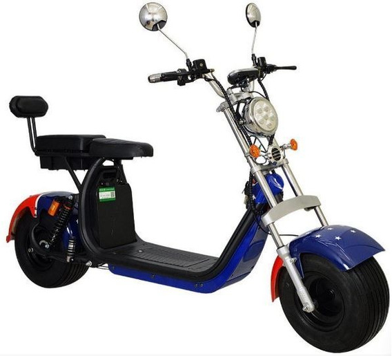 Chopper Scooter Elétrica 1500w - Eua