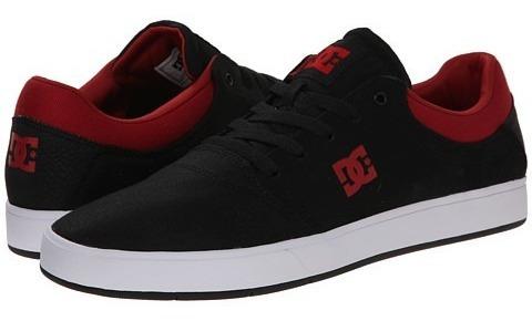 Tênis Dc Crisis Tx Black Red