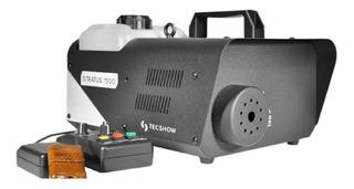 Máquina De Humo Stratus 1500 Tecshow Control Inalambrico Dmx