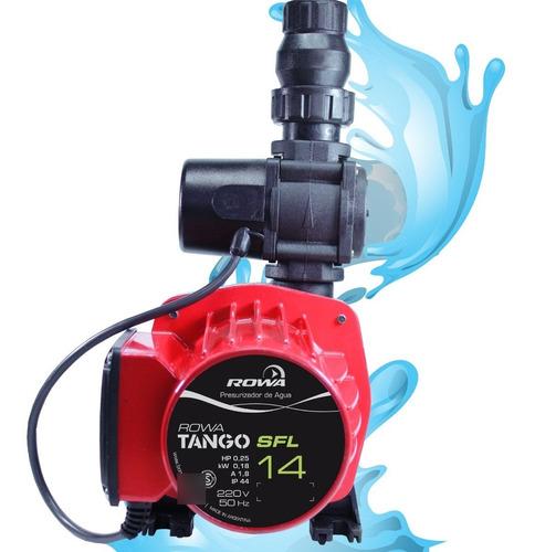 Imagen 1 de 10 de Bomba Presurizadora Rowa Tango Sfl 14 - Ideal 3 Baños / Duchas + Cocina + Lavadero. Calidad Superior.