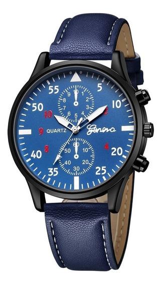 Reloj Para Hombre Color Azul
