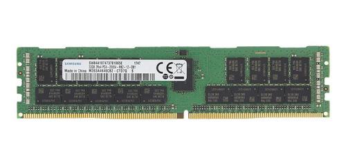 Memória 128gb (4x 32gb) Ddr4 2666 Ecc Rdimm Dell R740 R440
