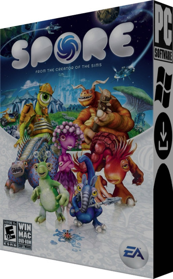 Coleção Spore - Pc - Digital