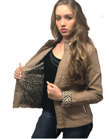 Jaqueta De Couro Pu Feminina Casaco Blusa De Frio Inverno