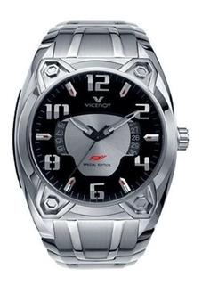 Reloj Hombre Viceroy 47629-15 Calendario Acero Inox Wr 50m