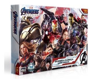 Quebra Cabeça Avengers Vingadores Marvel 2000 Peças