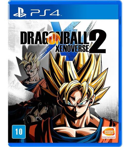 Jogo Ps4 Dragon Ball Xenoverse 2 - Novo - Lacrado