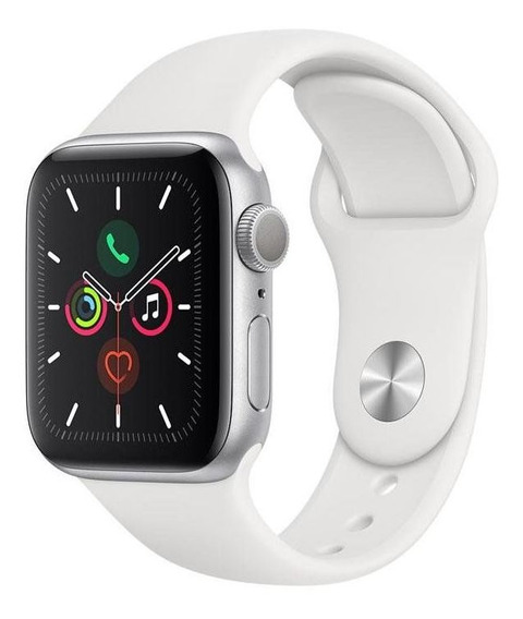Relogio Apple Watch Series 5 40 Mm Gps Prata