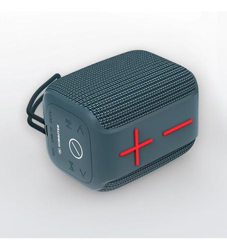 Caixa De Som Kimaster Bluetooth K400 A Prova Agua Ipx6