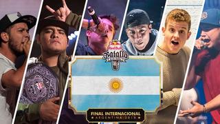 Entradas Final Internacional Red Bull Argentina Plateas