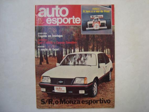 Revista Auto Esporte N. 249 - Monza Esportivo